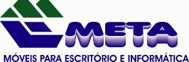 Logomarca Meta móveis para escritório e informática